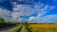 Zon, blauw en wolken om 10.00 uur #buienradar