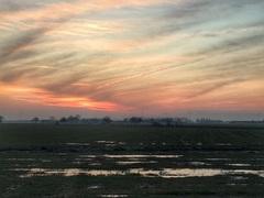 Eer de zon kwam zag het zo uit de morgen  #buienradar