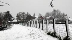 zaterdagmorgenmorgen 27 december''vlakbroek'' ,een witte wereld. #buienradar