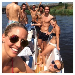 Festival life has to wait. Boat life it is✔️ #friends #zomer #bootjevaren