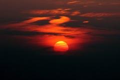 13 sept, vanavond zag ik de zon zo weg zakken om 19:55 uur. #buienradar