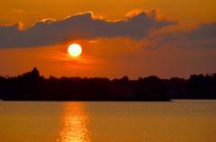 Ondergaande Zon op 14 September! #buienradar
