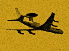 Hoog boven ons houden ze alles en iedereen in de gaten...vliegende radarposten gemakkelijk te zien met 60x Tele... #buienradar