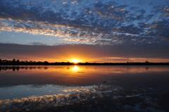 1 november, zonsopkomst #buienradar