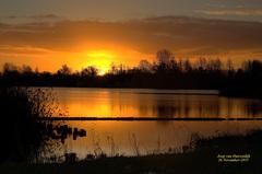 De Zon deed z'n Best om op te komen op Donderdag 26 November in de Gouds/Reeuwijkse regio!  #buienradar