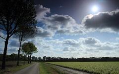 wolkenvelden en zon woensdagmorgen #buienradar