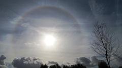kring om de zon vanmiddag NO Groningen (20-10-2014) #buienradar