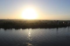 6.23 uur in de ochtend! met veel zon aan de oude maas. Er op uit!!! en een fijne dag allemaal!  #buienradar
