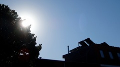 Zonovergoten en strakblauw in Breda op deze laatste dag van deze grillige julimaand. #buienradar