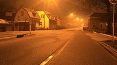 Dunne, gladde laag ijzel op de weg om 5.30 uur #buienradar