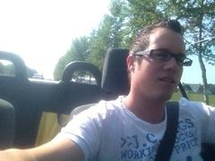 Vandaag is een lang stuk auto rijden niet erg #cabrio #25graden #zon