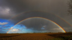 dubbele regenboog #buienradar