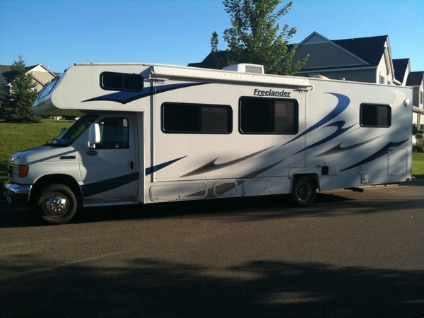This the mobile home for the next 6 weeks for the Jestus Family