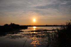 zonsondergang op zaterdag #buienradar