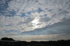 Gelukkig komt  de  zon weer  even  terug #buienradar