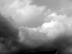 Een mooie regenlucht op Maandagmorgen Hopelijk niet voor de hele week. #buienradar