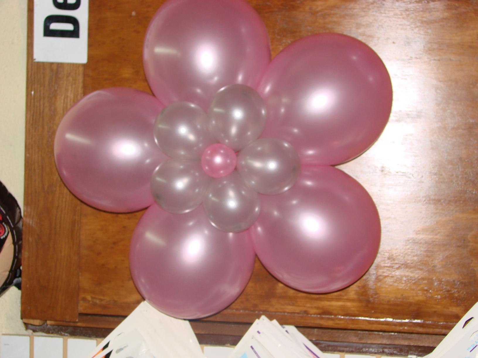 Una Flor Con Globos Premium Para Adornar Tu Evento Sdanalus - Como-hacer-flores-de-globos