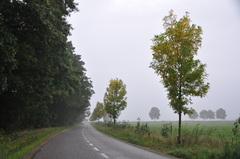 een voorproefje op de naderende herfst op zondagochtend in zuidoost Brabant #buienradar