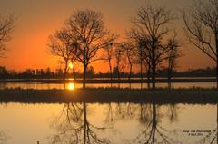 Een mooie opkomende Zon op 4 Mei,in de Gouds/Reeuwijkse regio! #buienradar