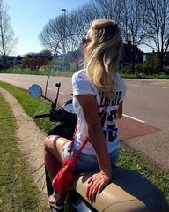 ☀️Vroem, vroem... #zondag #scooter #trip #zonnetje #zomer #gevoel #Amstel #Amsterdam