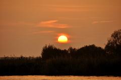 zonsondergang op vrijdag boven z.o. Brabant! #buienradar