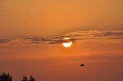 prachtige maandagochtend boven zuidoost Brabant  #buienradar