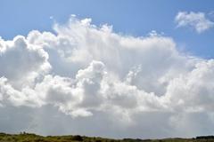 Stapel wolken en buien aan de kust #buienradar