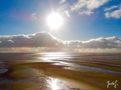 De zon laat zich toch nog even zien vandaag... #terschelling #buienradar