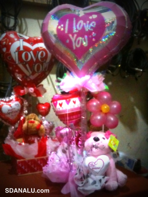 Globos para San Valentín - Imagui