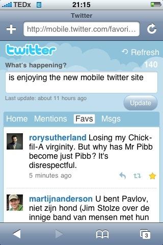 The moment when Twitter got mainstream.