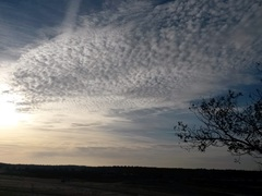 mooie wolkendeken boven de loonse duien  #buienradar