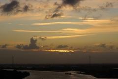 8.31 uur voor dat de Zon te zien was op 3 Februari  #buienradar