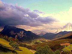 Mooi berg landschap. #buienradar