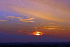 zonsondergang om 17.39 uur, 12 Februari  #buienradar