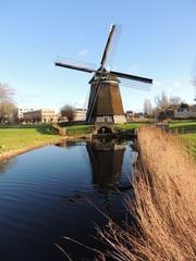 Molen in Hoefplan - Alkmaar (24 dec'14). #buienradar