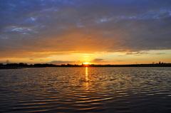 prachtige zonsonder op donderdag #buienradar