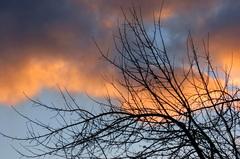 fraaie  lucht  na  een  mooie  dag. #buienradar