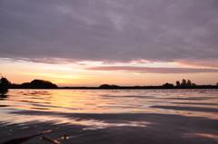 zonsopkomst met toenemende bewolking boven zuidoost Brabant op vrijdag #buienradar