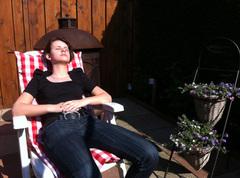 @BoerPelle Kijk d'r toch eens lekker liggen in de #zon.
