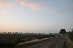 een prachtige eerste herfstochtend van 2014 boven zuidoost Brabant met een opkomend zonnetje #buienradar