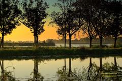 Voor zonsopkomst op deze Zaterdag,was er veel nevel aan de grond in de Gouds/Reeuwijkse regio! #buienradar