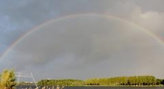 regenboog weerwater almere  #buienradar