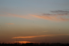 zon gaat onder 27-3 #buienradar