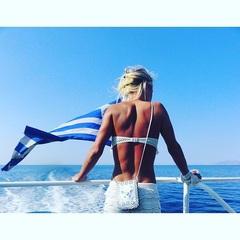 💙🌊 #takemeback #Greece #zomer #boot #zon #water #genieten #dreamer