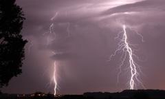 Onweer de afgelopen nacht #buienradar