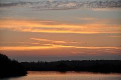 eerst nog opklaringen voor de zonsopkomst op vrijdag in zuidoost Brabant #buienradar