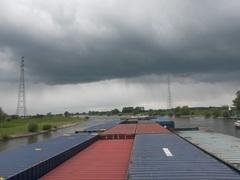 hier kwam dus hagel uit en #onweer in voor bij #Zutphen #buienradar