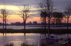 Prachtige kleuren,waren er te zien om 6 uur in de ochtend in de Gouds/Reeuwijkse regio! #buienradar