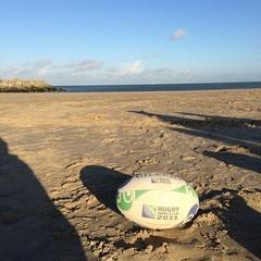 Beach rugby training @scheveningen #zomer