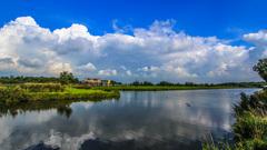 Zon en wolken om 11.00 uur  #buienradar